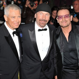 U2 in GQ Men of The Year Awards 2011 - Arrivals