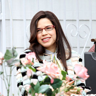 "America Ferrera in On Location with ""Ugly Betty"""