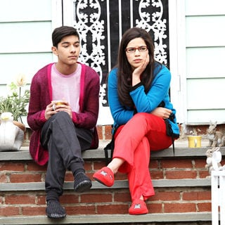"Mark Indelicato, America Ferrera in On Location with ""Ugly Betty"""