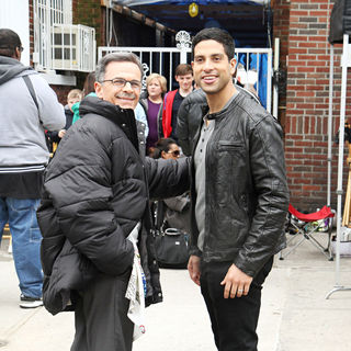 "Tony Plana, Adam Rodriguez in On Location with ""Ugly Betty"""