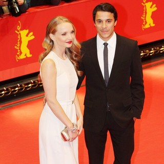 Janin Reinhardt, Kostja Ullmann in The 63rd Berlin International Film Festival - Premiere The Croods