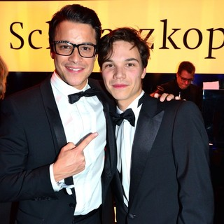 Kostja Ullmann, Sebastian Urzendowsky in Bambi Awards 2012