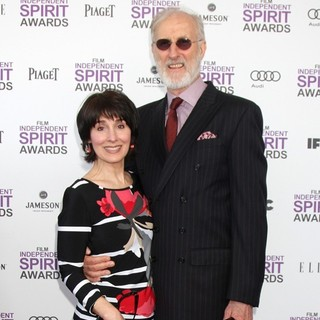 Anne Ulvestad, James Cromwell in 27th Annual Independent Spirit Awards - Arrivals