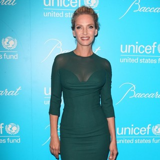 Uma Thurman in 2011 UNICEF Snowflake Ball - Arrivals