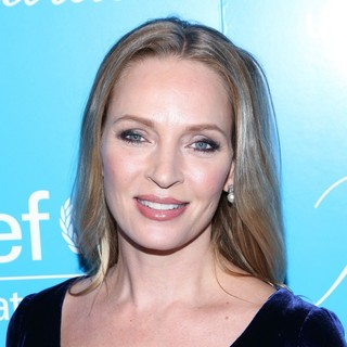 Uma Thurman in 8th Annual UNICEF Snowflake Ball