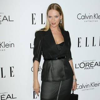 Uma Thurman in ELLE's 19th Annual Women in Hollywood Celebration - Arrivals
