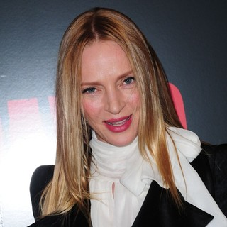 Uma Thurman in The Premiere of Django Unchained