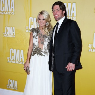 Carrie Underwood, Mike Fisher in 46th Annual CMA Awards