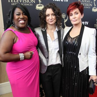 Sheryl Underwood, Sara Gilbert, Sharon Osbourne in The 41st Annual Daytime Emmy Awards - Arrivals