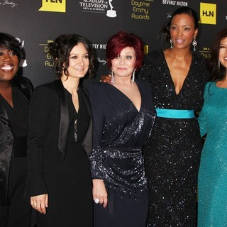 Sheryl Underwood, Sara Gilbert, Sharon Osbourne, Aisha Tyler, Julie Chen in 39th Daytime Emmy Awards - Arrivals