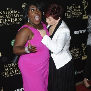 Sheryl Underwood, Sharon Osbourne in The 41st Annual Daytime Emmy Awards - Arrivals
