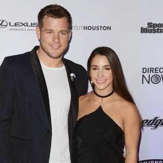 Colton Underwood, Aly Raisman-Sports Illustrated Swimsuit 2017 Event - Red Carpet Arrivals