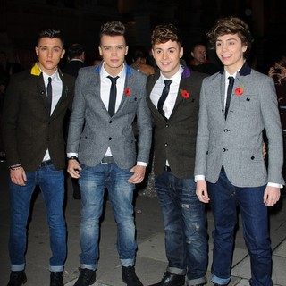 Union J in Cosmopolitan Ultimate Women of The Year Awards - Arrivals