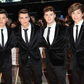 Union J in The Premiere of The Twilight Saga's Breaking Dawn Part II - Arrivals