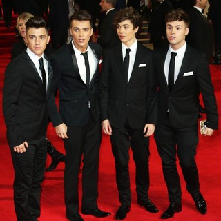 Union J in World Premiere of Skyfall - Arrivals