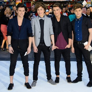 Union J in U.K. Premiere of Star Trek Into Darkness - Arrivals