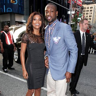 Gabrielle Union, Dwyane Wade in New York Premiere of Transformers Dark of the Moon