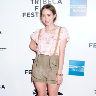 Zoe Kazan in 2011 Tribeca Film Festival Opening Night Premiere of 'The Union'
