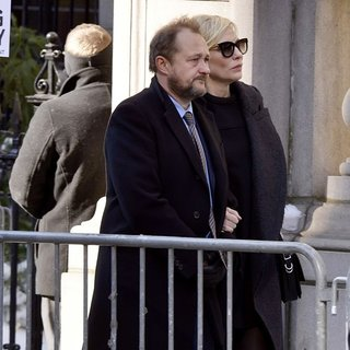 Andrew Upton, Cate Blanchett in The Funeral of Philip Seymour Hoffman