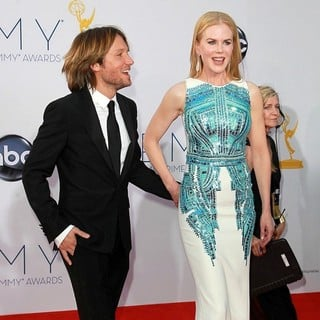 Keith Urban, Nicole Kidman in 64th Annual Primetime Emmy Awards - Arrivals