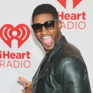Usher in 2012 iHeartRadio Music Festival - Day 1 - Arrivals
