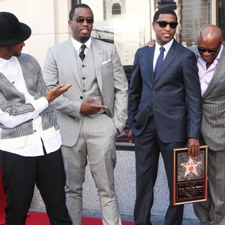 P. Diddy - Babyface Honored with A Walk of Fame Star Ceremony