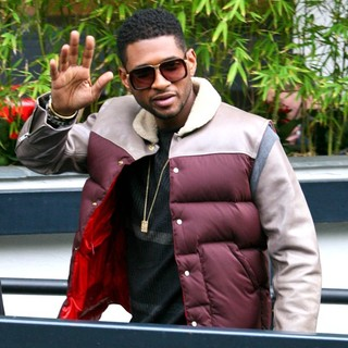 Usher Outside The ITV Studios - usher-outside-the-itv-studios-02