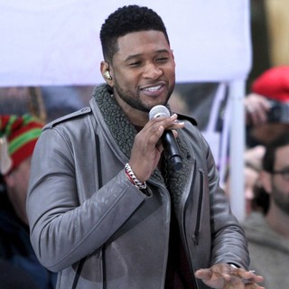 Usher in Usher Performs on Today as Part of The Toyota Concert Series