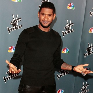 Usher in Screening of NBC's The Voice Season 4 - Arrivals
