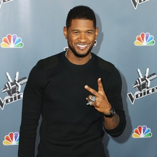Usher - Screening of NBC's The Voice Season 4 - Arrivals
