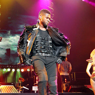 Usher in Usher Performs at The Mandalay Bay Events Center