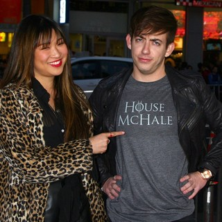 Jenna Ushkowitz, Kevin McHale in Premiere of The Third Season of HBO's Series Game of Thrones - Arrivals