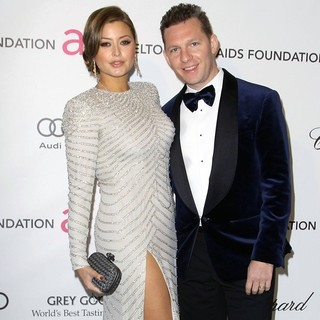Holly Valance, Nick Candy in 21st Annual Elton John AIDS Foundation's Oscar Viewing Party