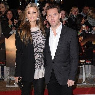 Holly Valance, Nick Candy in The Twilight Saga's Breaking Dawn Part I UK Film Premiere - Arrivals
