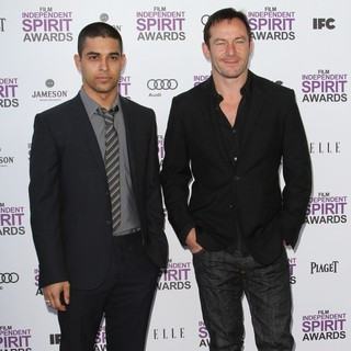 Wilmer Valderrama, Jason Isaacs in 27th Annual Independent Spirit Awards - Arrivals