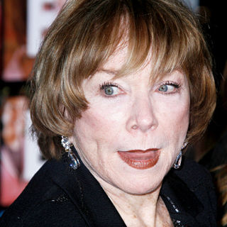 Shirley MacLaine in Los Angeles World Premiere of 'Valentine's Day' - Red Carpet