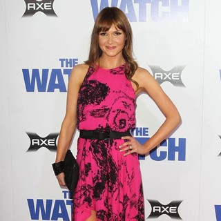 Valerie Azlynn in Los Angeles Premiere of The Watch