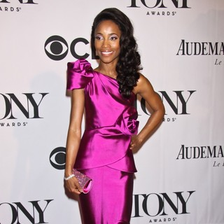 Valisia LeKae in The 67th Annual Tony Awards - Arrivals