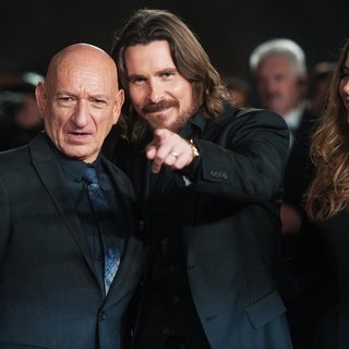 Christian Bale - Exodus: Gods and Kings UK Film Premiere - Arrivals