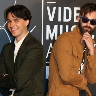 Ezra Koenig, Chris Tomson, Vampire Weekend in 2013 MTV Video Music Awards - Arrivals