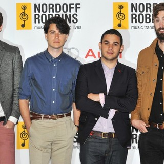 Vampire Weekend in Nordoff Robbins O2 Silver Clef Awards - Arrivals - vampire-weekend-nordoff-robbins-o2-silver-clef-awards-01