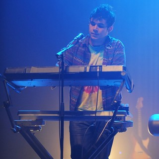 Rostam Batmanglij, Vampire Weekend in Vampire Weekend Perform at Fillmore Miami Beach