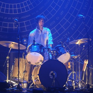 Chris Tomson, Vampire Weekend in Vampire Weekend Perform at Fillmore Miami Beach