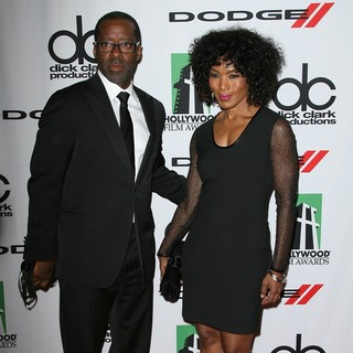 Courtney B. Vance, Angela Bassett in The 17th Annual Hollywood Film Awards