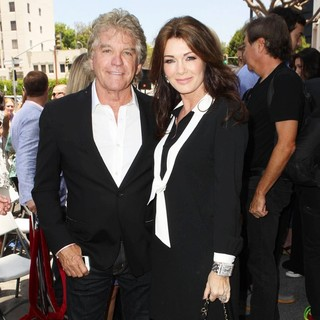 Ken Todd, Lisa Vanderpump in David Foster Honored with Star on The Hollywood Walk of Fame