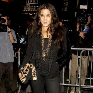 Vanessa Carlton in Opening Night of The Broadway Play Oleanna - Arrivals