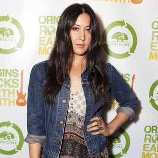 Vanessa Carlton in Origins Rocks Earth Month