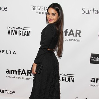 Vanessa Hudgens in 2013 amfAR Inspiration Gala Los Angeles Presented by MAC Viva Glam