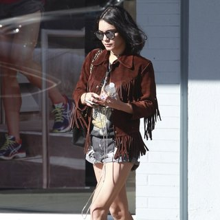 Vanessa Hudgens Out Shopping