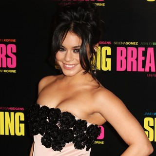 Vanessa Hudgens in Paris Premiere of Spring Breakers - Red Carpet